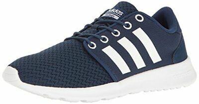 ADIDAS NEO CLOUDFOAM QT RACER Womens RUNNING CASUAL Shoes SIZE 11 NEW NAVY WHITE