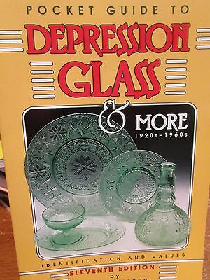 Pocket Guide to Depression Glass & More 1920-1960s 11th Edition Identification