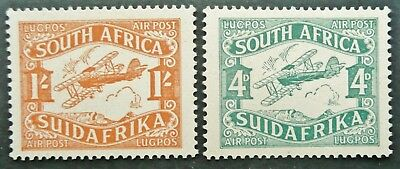 South Africa 1929 Airmail Stamp Set - Mnh - See!
