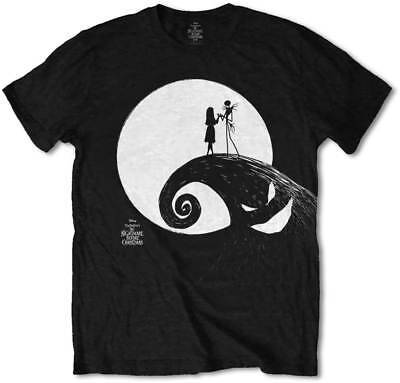 The Nightmare Before Christmas Men's Tee: Moon T-Shirt NEW