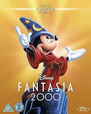 Fantasia 2000 Disney Blu-Ray with special slipcover BRAND NEW Free Ship