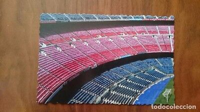 Postal estadio Camp Nou Barcelona