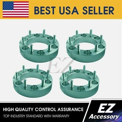 """4 Wheel Adapters 6 Lug 5.5 To 6 Lug 135 1.5"""" Ford Wheels To Fit Chevy Toyota"""