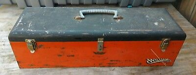 Vintage Williams Mechanics Toolbox S-7A ~ Made in the USA ~ Socket Trays