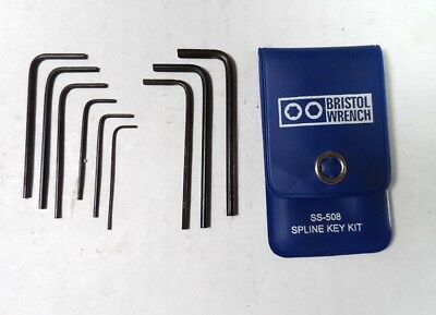Bristol SS-508 Spline Wrench Set for Narco and Aviation Set Screws