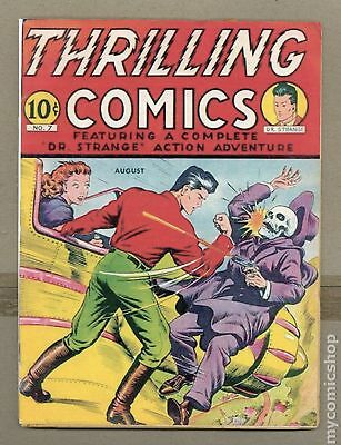 Thrilling Comics (Better/Nedor/Standard) #7 1940 Coverless 0.3