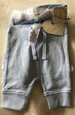 BNWT Next Baby Boy 2 Pack Of Blue Trousers. Size Firstsize