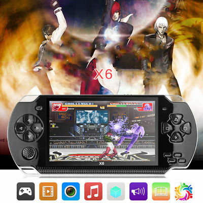 """2019 4.3"""" X6 Handheld Video Game Console 32 Bit Built-in 1000 Free Retro Games"""