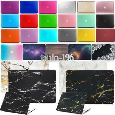 Rubberized Frosted Matted Hard Case Cover For Apple MacBook air Pro 11 13'' 15''