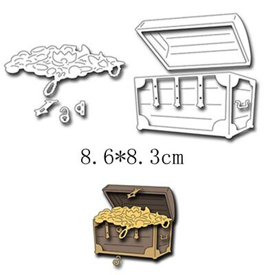 A Box Treasures Metal Cutting Dies Stencils DIY Scrapbooking Paper Cards Craft