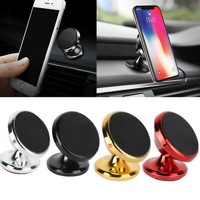 Universal 360° Rotating Car Magnetic Holder Mount Stand For Mobile Phone PDA GPS