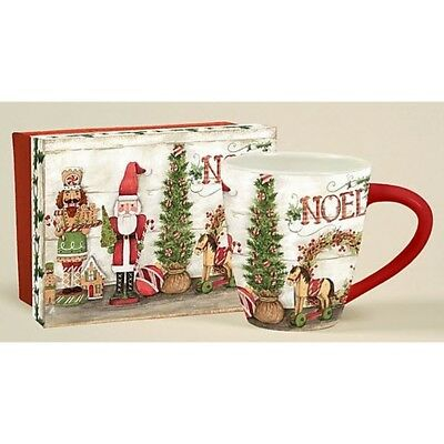 Christmas Nutcracker Cafe Mug, Journals and Housewares by Lang Companies