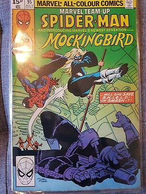 Marvel Team Up #95 First Appearance Of Mockingbird Good Quality