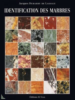 Identification des Marbres - Identifying Marble, French book