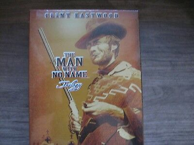 Clint Eastwood Man With No Name Trilogy Box Set 3 Movies NEW!