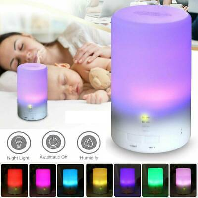 LED USB Essential Oil Ultrasonic Air Humidifier Aroma therapy Diffuser Cool Mist