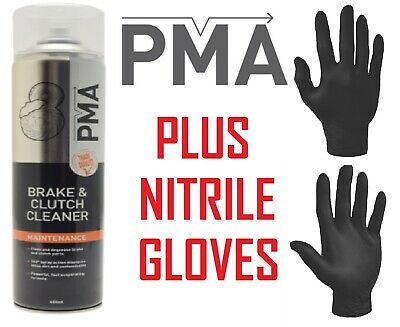 PMA Brake and Clutch Cleaner Aerosol 600ML  - Package Of 1,3,6 or 12 Cans