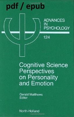 (PDF.EPUB) Cognitive Science Perspectives on Personality and Emotion EB00K PDF !