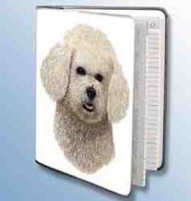 Retired Dog Breed BICHON FRISE Vinyl Softcover Address Book by Robert May