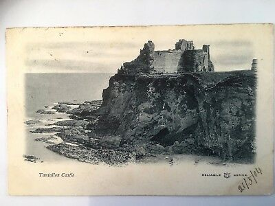 TANTALLON CASTLE  USED   1904 & Stamp  VERY CLEAN