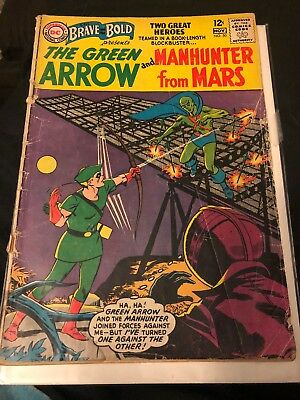 DC Comics Brave And The Bold #50! Silver Age 1st Appearance Of Martian Manhunter