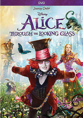 Alice Through the Looking Glass (DVD, 2016) BRAND NEW