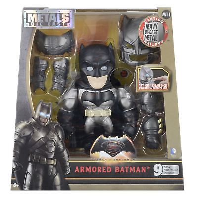 Metals Die Cast Large 6 Inch DC Comics Batman V Superman Armored Batman Figure