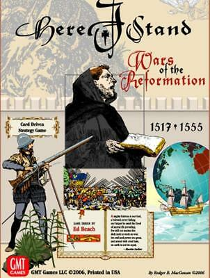 GMT Card-Driven  Here I Stand - Wars of the Reformation, 1517-1555 (2nd  Box SW