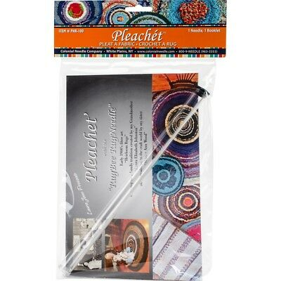 Colonial Needle Pleachet Rug Needle & How-to Booklet-