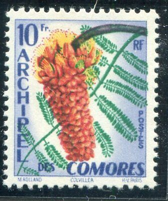 COMOROS  45  Beautiful Mint  Never Hinged Issue  FLOWER ISSUE  UPTOWN 46002
