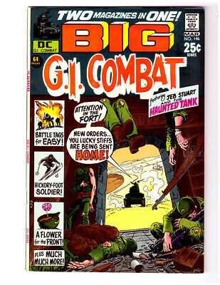 G.I. COMBAT #146 in NM condition a 1971 Silver Age DC WAR comic HAUNTED TANK
