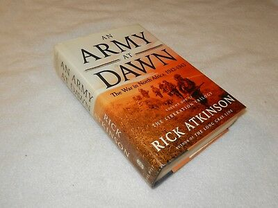 "WW II  MTO Tunisia       ""AN ARMY AT DAWN: THE WAR IN NORTH AFRICA 1942-1943"""
