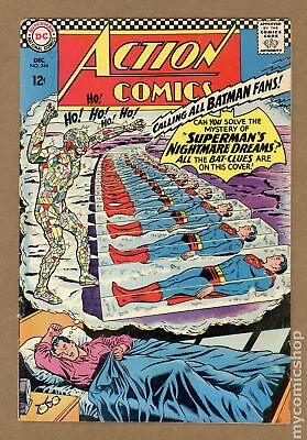 Action Comics (DC) #344 1966 VG 4.0