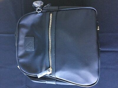 6cecfc815b Celine dion backpack new with tags black nylon with gold accents