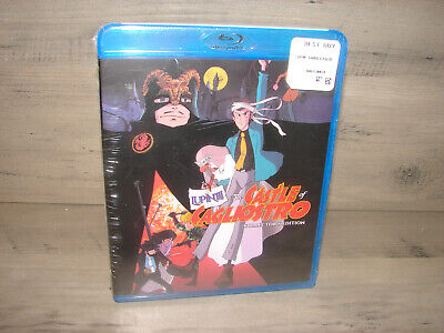 Lupin the Third: The Castle of Cagliostro [Blu-ray]  **NEW FACTORY SEALED**