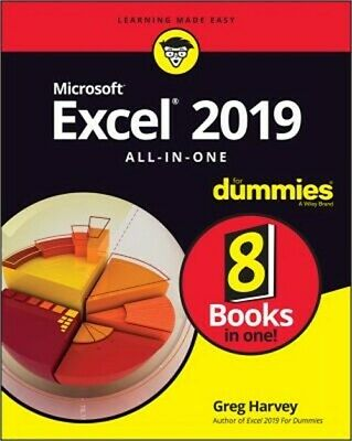 Excel 2019 All-In-One for Dummies (Paperback or Softback)