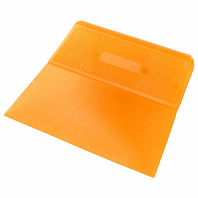 Home Kitchen Plastic Cake Pizza Dough Pastry Butter Scraper Cutter Dark Yellow