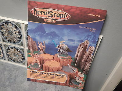Heroscape 2nd Edition GUIDE Rules Booklet: Near Mint