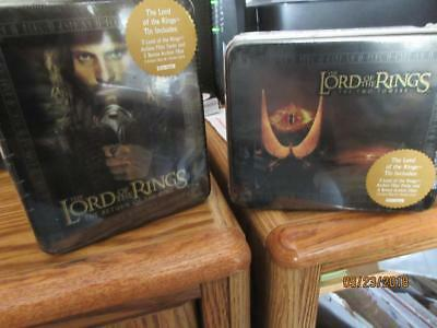Artbox Lord Of The Rings Return Of The King & The Two Towers Lot Of (4) Tins