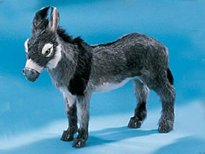 Large Standing Donkey Lifelike Decoration Collectible Model New Statue