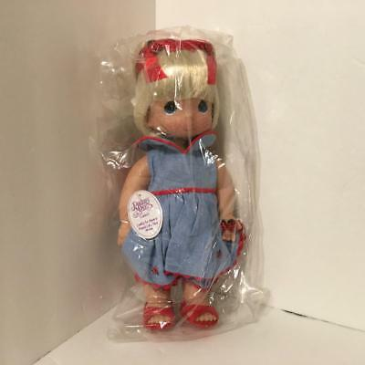 Precious Moments 4328 LUCKY TO HAVE FRIEND LIKE YOU 12in Blonde Vinyl Doll NWT