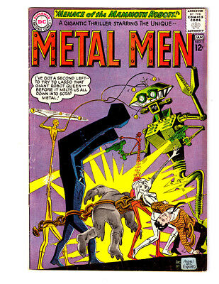 THE METAL MEN #5 in FN+ condition a 1963 Silver Age DC comic