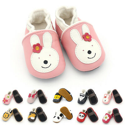 b2cf1e8df9d New Baby Boy Girls Toddler Winter Warmer Shoes Soft Leather Slippers 0-24  Months