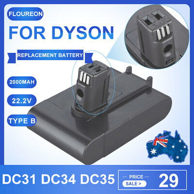 3000mAh 22.2V 6-Cell Vacuum Cleaner Battery for Dyson DC31 DC34 DC35 DC44 17083