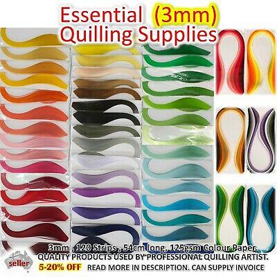 3mm Paper Quilling Strips Lucky Star Paper Craft DIY Gift Quiling Supplies Craft