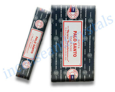 PALO SANTO by Satya/Shrinivas 2 x 15g Packs premium Incense Sticks