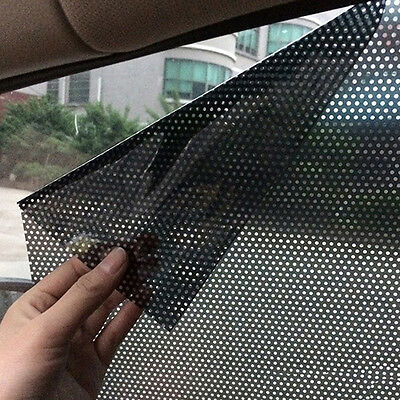 2PCS Window Sun Shade Mesh Covers Baby UV Protector Shield Curtain For Car New