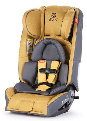 Diono Radian 3 RXT All-in-One Convertible + Booster Child Safety Car Seat Yellow