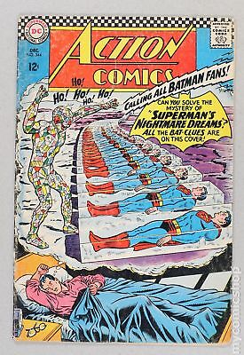 Action Comics (DC) #344 1966 GD/VG 3.0 Low Grade