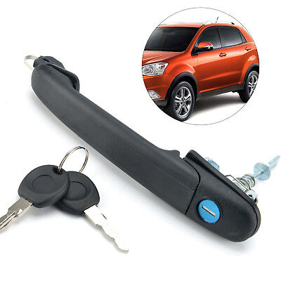 Car Outer Door Handle Key Lock Right Driver Side For Ford Galaxy VW Polo/Sharan